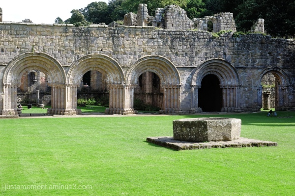 Arches - Fountains Abbey.