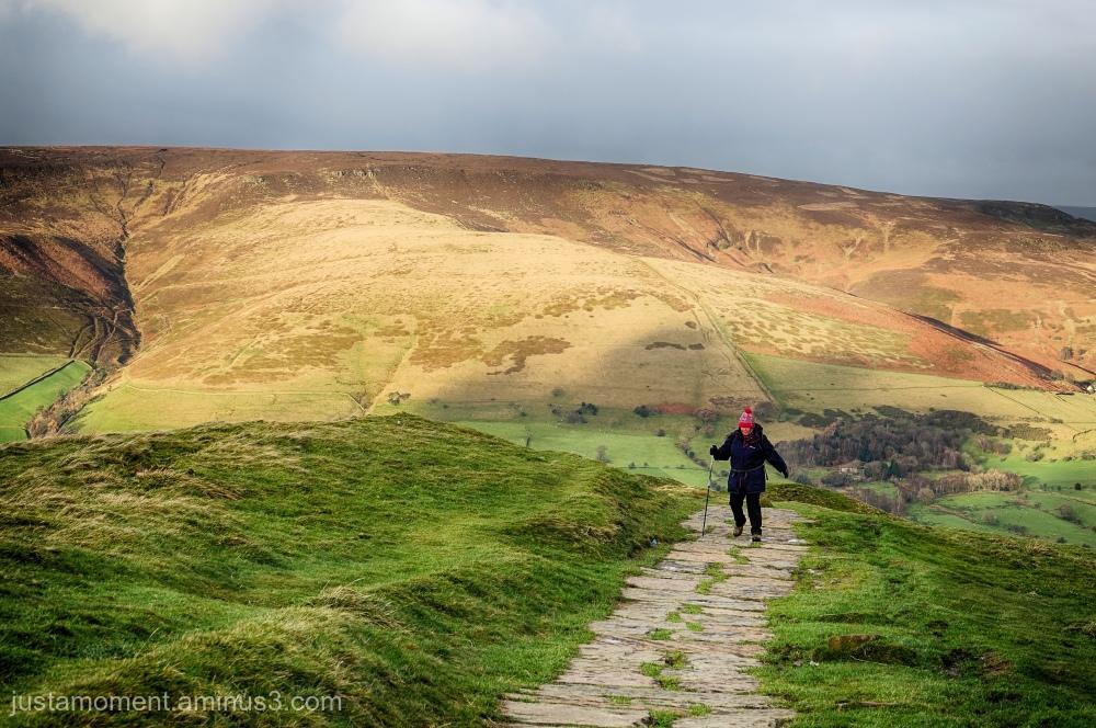 Walking the great ridge - Mam Tor to lose Hill.