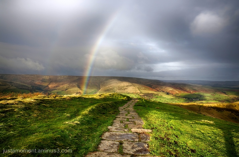 Rainbow Ridge.