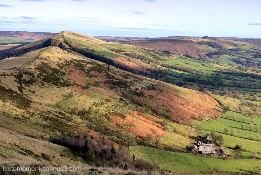 Mam Tor and the Great Ridge.