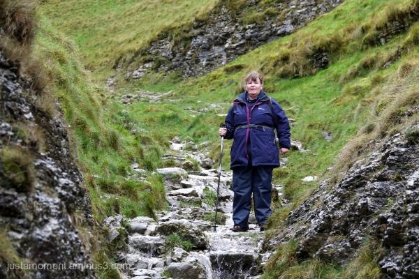It was a very wet walk.