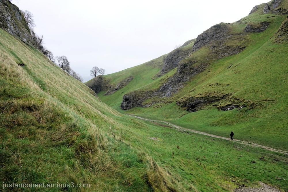Cave Dale, Derbyshire.