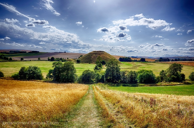 A journey into the Neolithic - Silbury Hill.