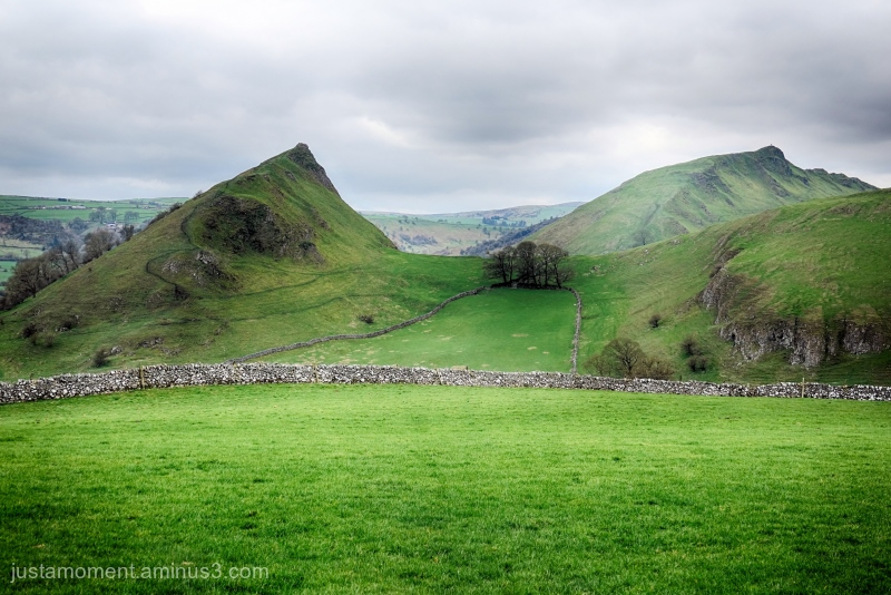 Chrome Hill and the Dragons Back.