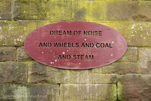 Dream of steam - on the Tissington Trail.