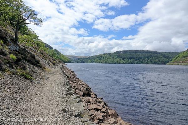 Caban-Coch Reservoir.
