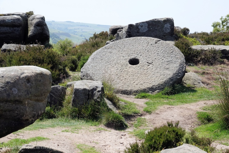 Unfinished Millstone.