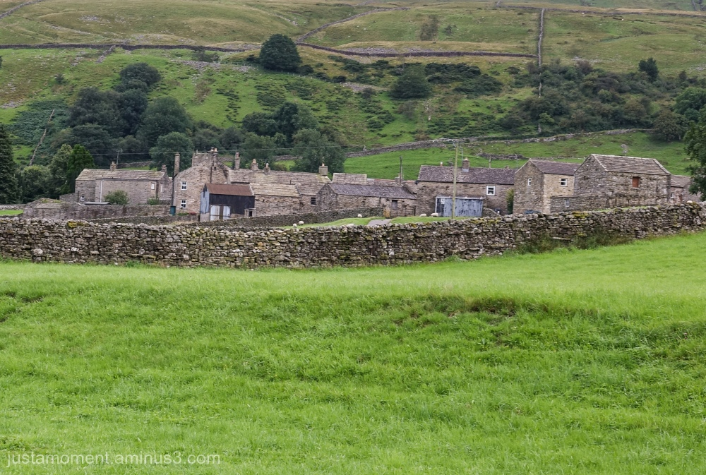 The village of Muker - Yorkshire Dales.