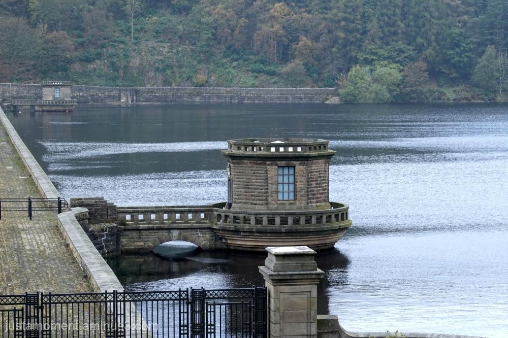 Ladybower Reservoir.