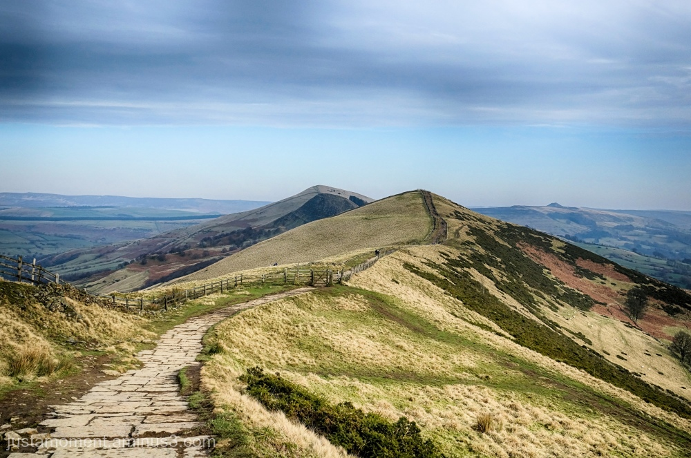 Looking along the Great Ridge.