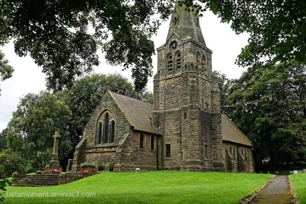 Edale Church, Derbyshire.