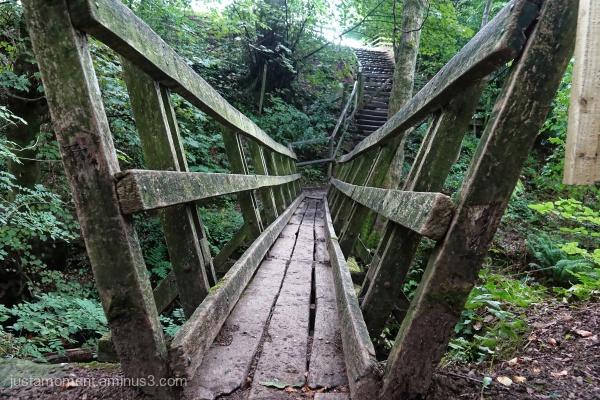 Grinds Brook bridge.