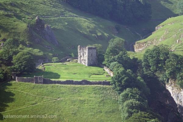 Peveril Castle.