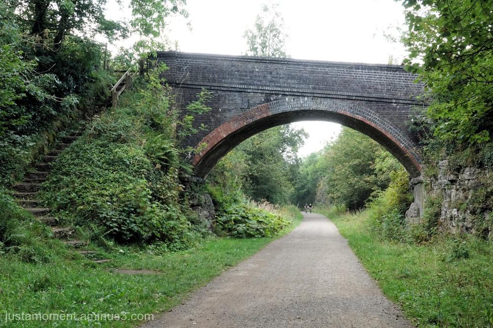 Bridge on the Monsal Trail.