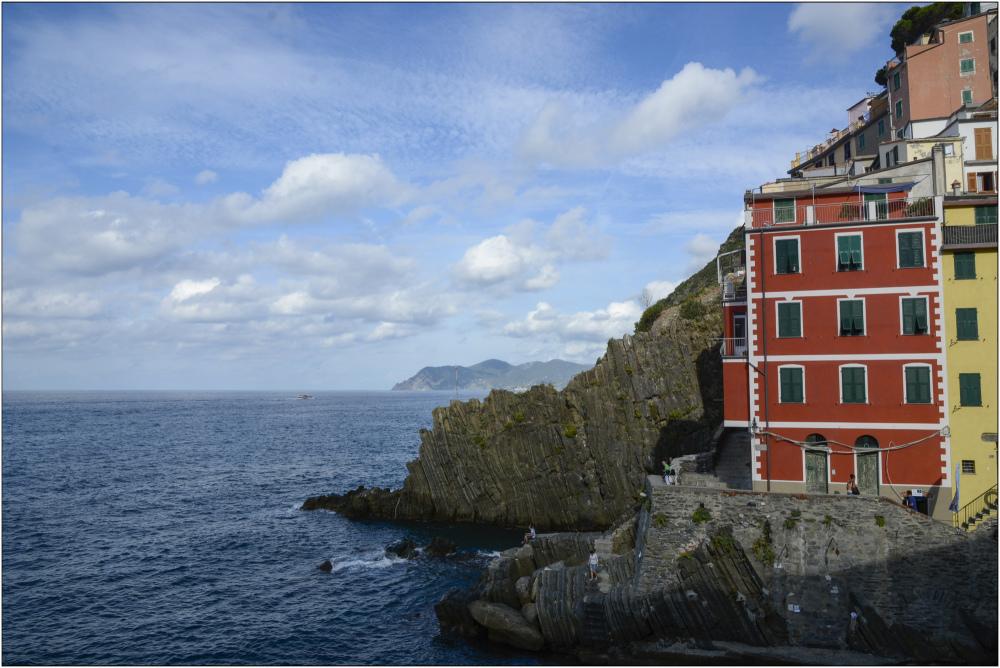 Dernière maison avant la mer