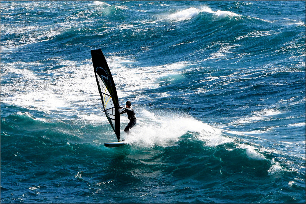 Passer les vagues