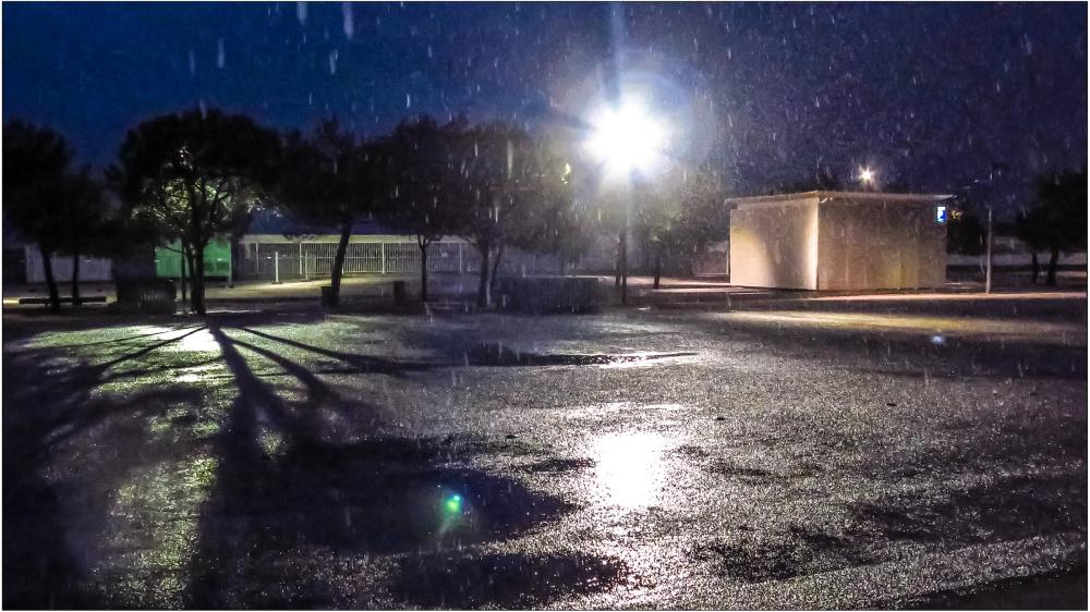 Pluie  d'automne