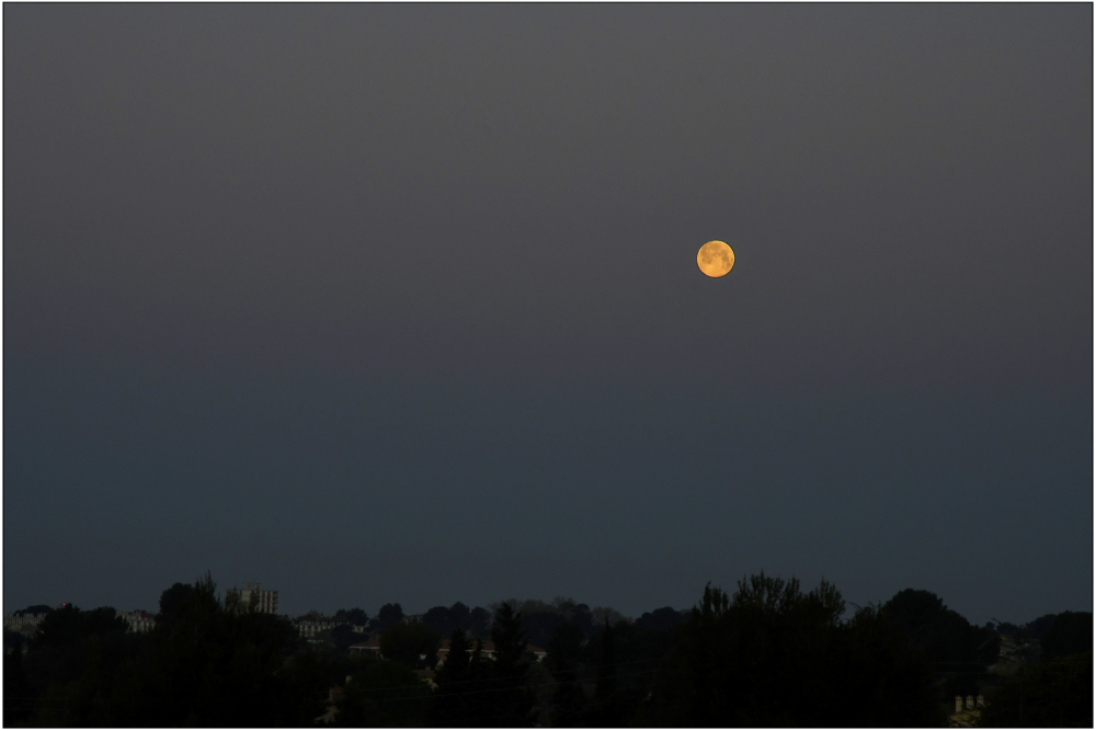 Réveil sous la lune