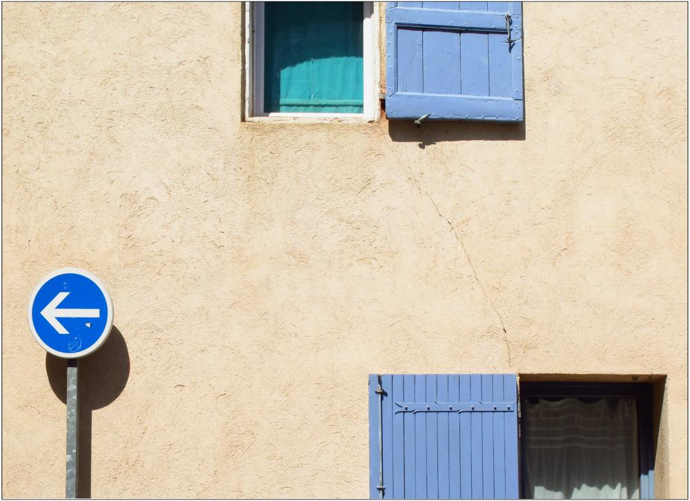 Rester ou partir en bleu