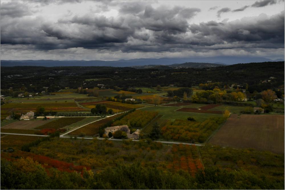 Plaine d'automne