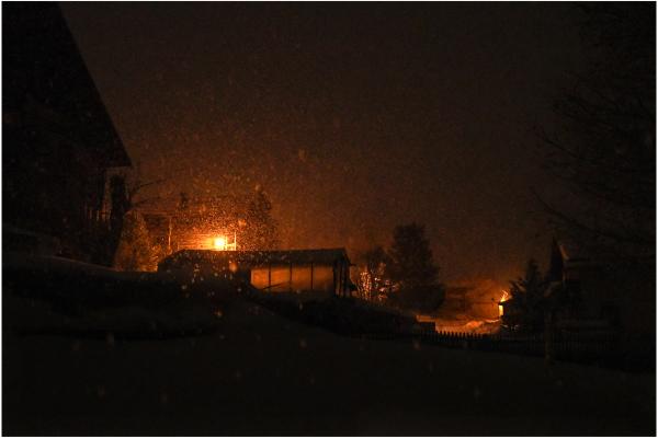 Nuit neigeuse