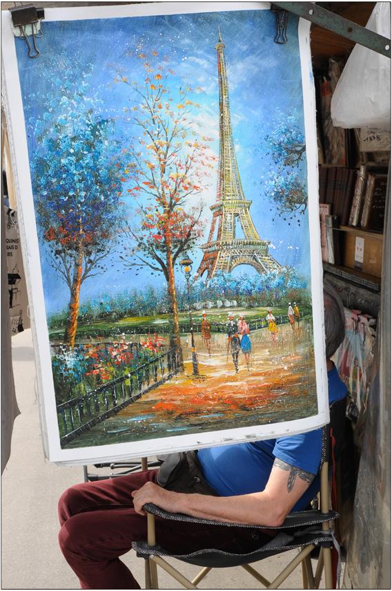 Peinture sur soi(e)