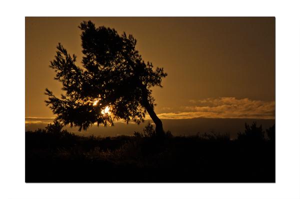 Coucher de soleil sur Valtrède