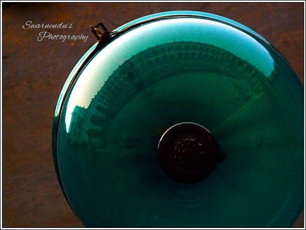 reflection of imambara hooghly.