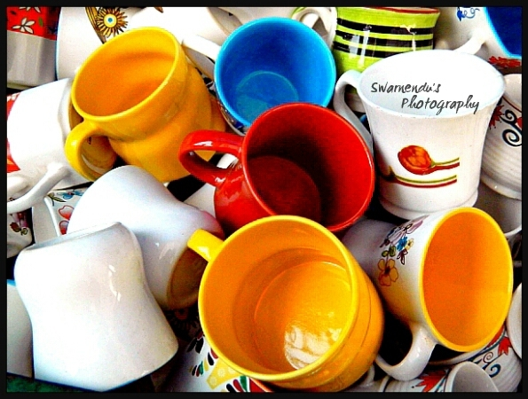 Colourfull cups