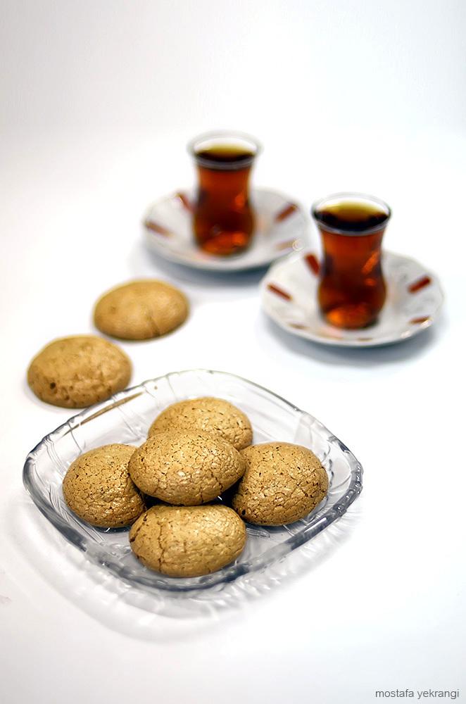 شیرینی گردویی | Walnut cookies