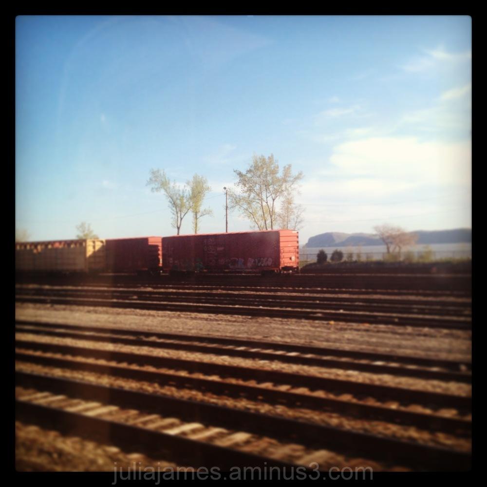 Hudson Line,  1 May 2013, Croton Harmon, NY