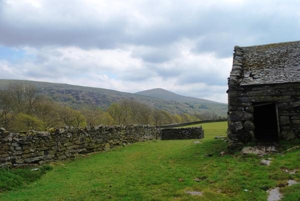 Welsh stone barn