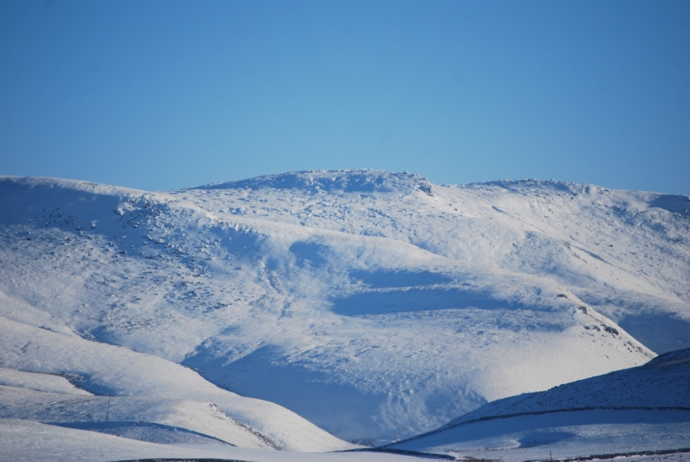 Snow covered Bleaklow