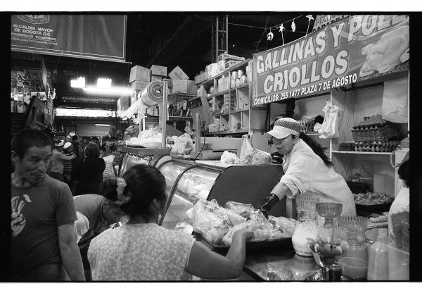 Mercados de Bogotà - Pollo
