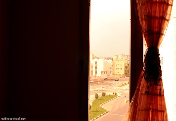 جهان ، پشت پنجره خوابیده