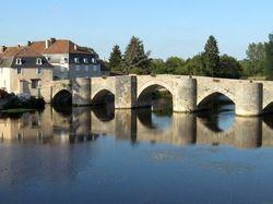 Le vieux pont de St Savin