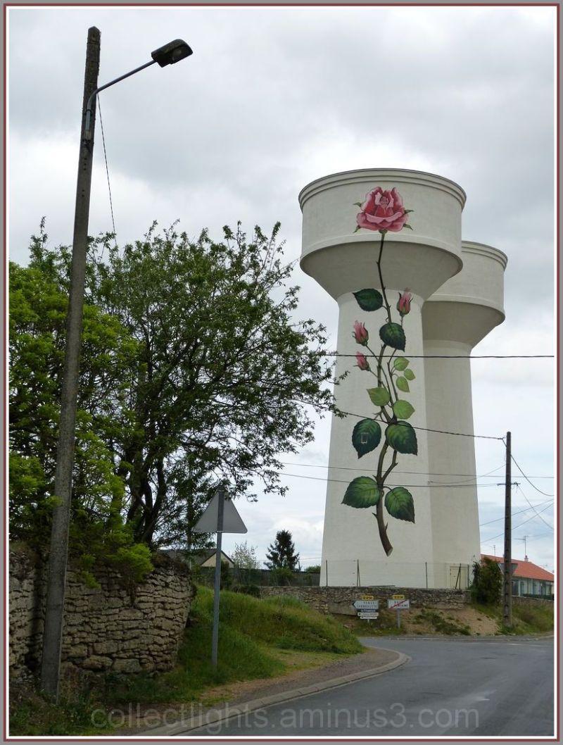 Chateau d'eau de rose