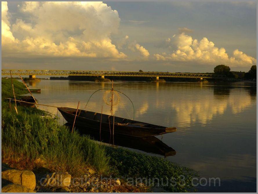 Pause au bord de la Loire un soir de septembre