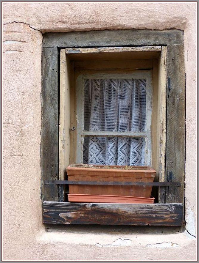 Fenêtre en hiver