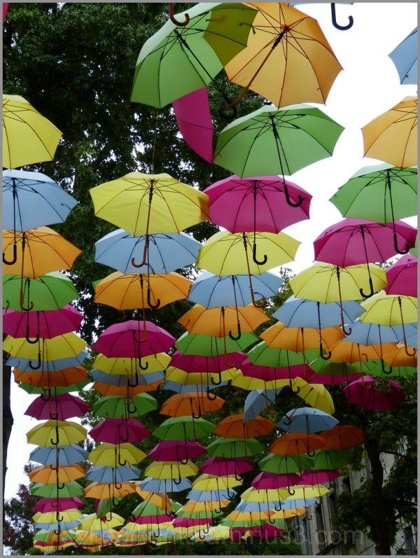 Des parapluies comme s'il en pleuvait !