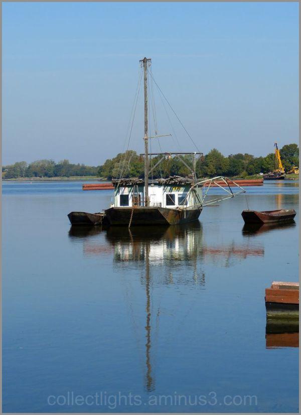 Calme plat sur la Loire