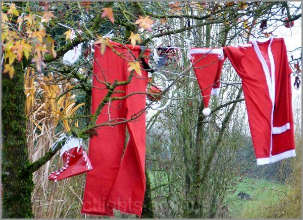 La lessive du père Noël met du temps à sécher !