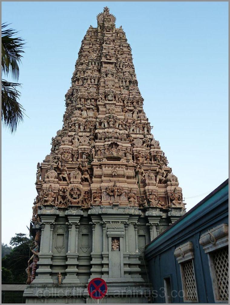 Le temple de Muthumariamman à Matalé  2/...