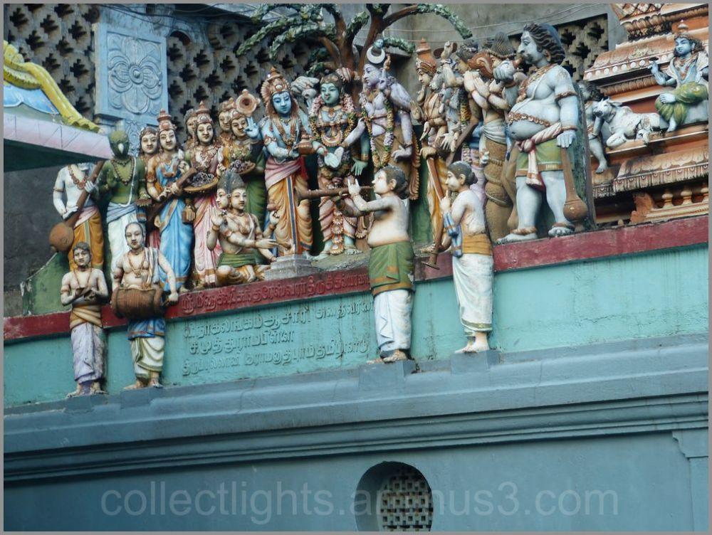 Le temple de Muthumariamman à Matalé  4/...