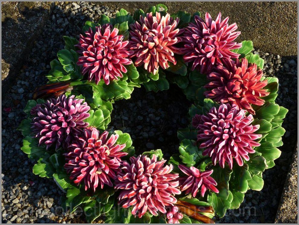 Fleurs en couronne