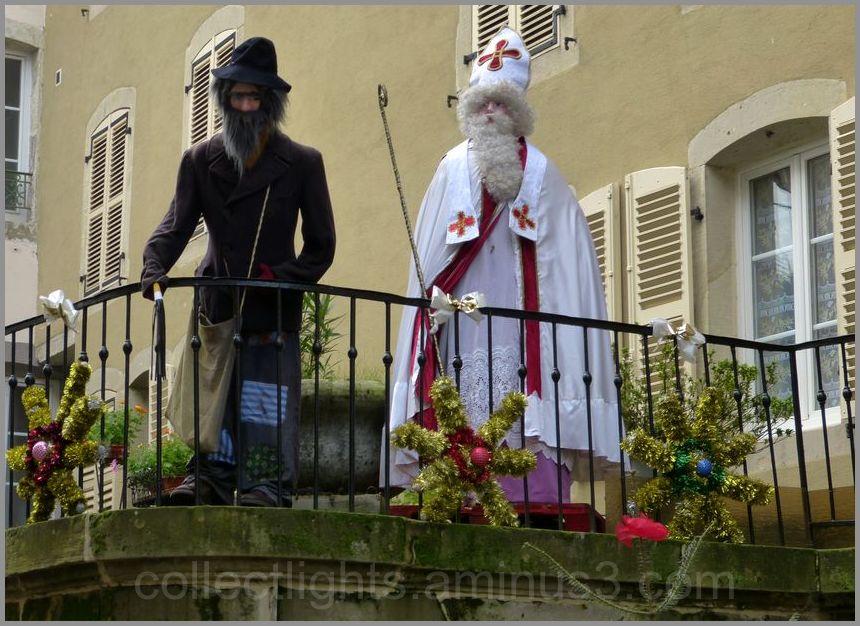 St Nicolas et le père Fouettard