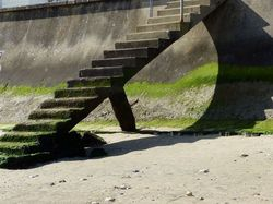 Un escalier à scier les jambes !