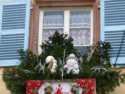 Fenêtre décorée