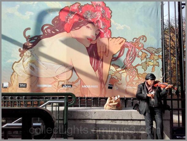 Flânerie parisienne, ombres sur le rêve !