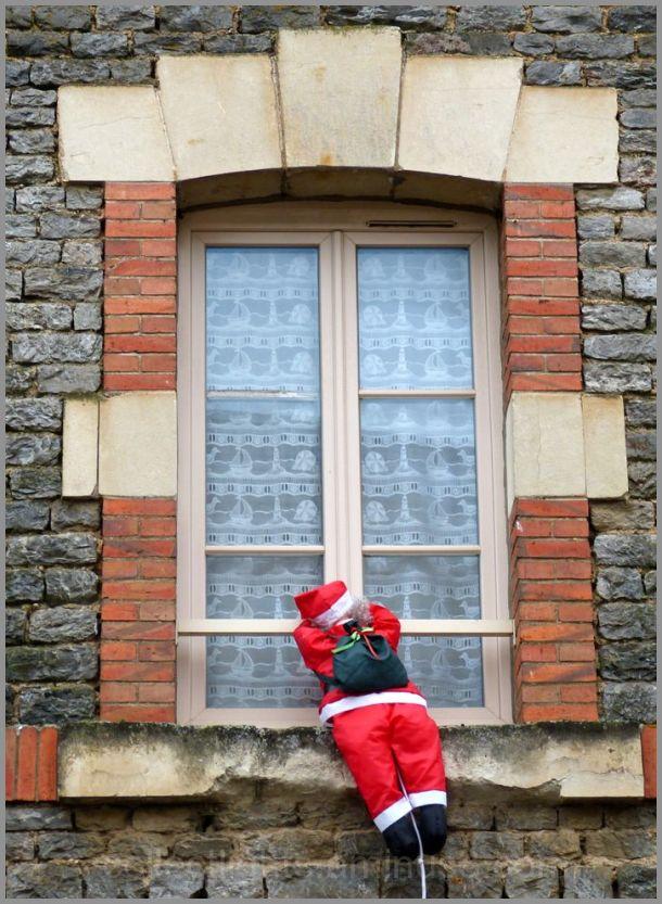 Le père Noël s'exerce un peu avant le grand jour